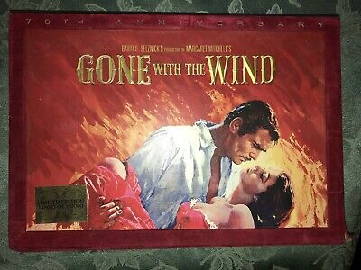 Gone With The Wind DVD BluRayDisc 70th Anniversary Memorabilia Collectors (Exc)