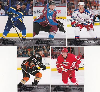 2015-16 Upper Deck Joel Edmundson Young Guns #207 Blues