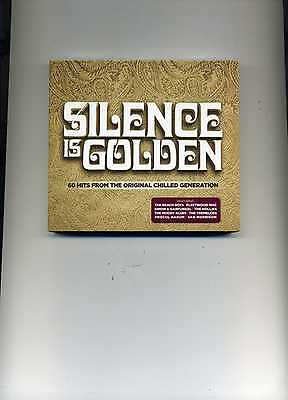 Silence Is Golden - Tremeloes Animals Hollies Roy Orbison Byrds - 3 Cds - New!!