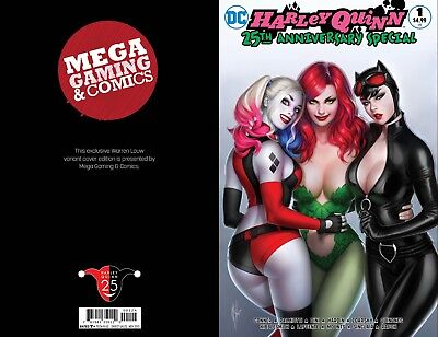 Harley Quinn 25th Anniversary #1 Warren Louw MEGA GAMING & COMICS