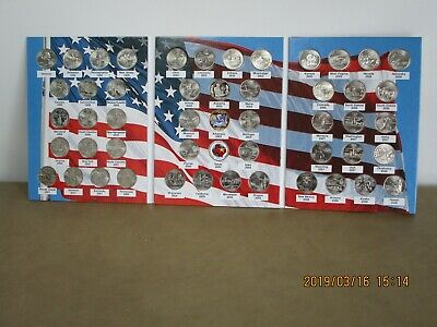 50 UNCIRCULATED  STATE Quarters,  COMPLETE SET,   album/folder,    EXTRAS!