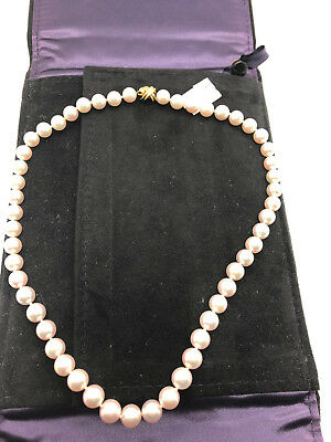 b3d787e5f Tiffany Signature X Akoya Pearl Necklace 7.1 - 7.5 mm with 18k Gold Clasp  16