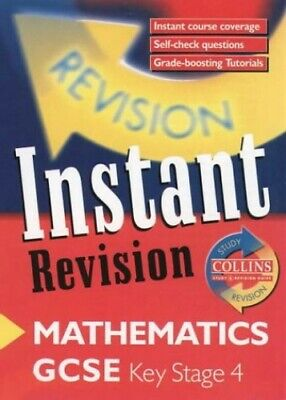 Instant Revision - GCSE Mathematics: Instant Revision ... by Metcalf, Paul Cards