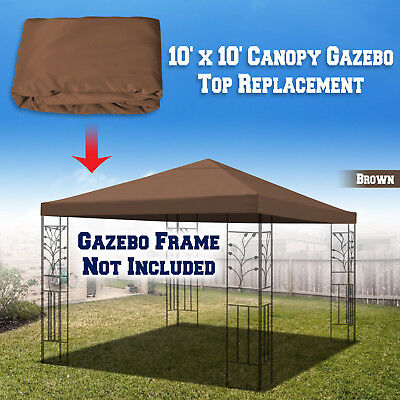 Accessories Replacement 10X10Gazebo Canopy top Patio