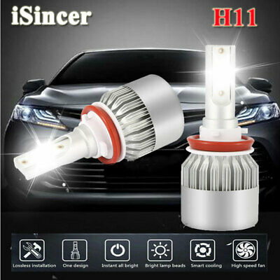 H8 H9 H11 1800W 270000LM LED Headlight Bulbs Conversion Kit 6000K High Low Beam