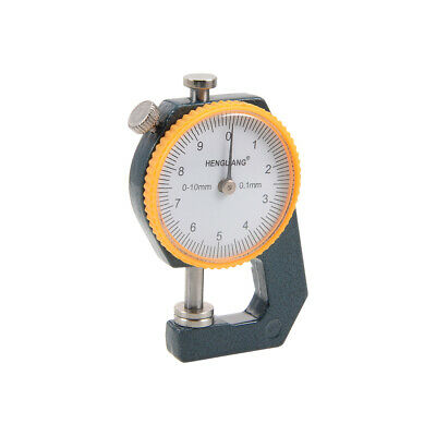 Metal Leather 0 to 10mm Dial Thickness Gauge 0.1mm Precision