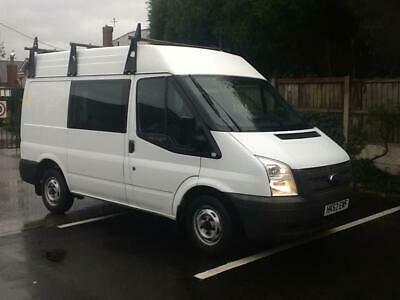 13 REG Ford Transit 2.2TDCi ( 125PS ) ( EU5 ) 280MWB Med Roof Double Cab 6SEATER