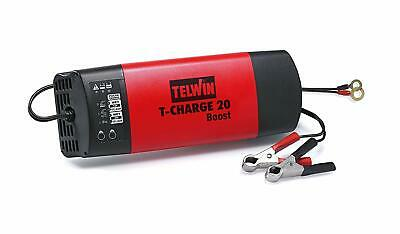 Telwin T-Charge 20 Boost Caricabatterie Controllo Elettronico 12 24 V 807563