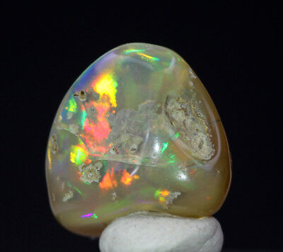 RARE Opal Polished Gemstone Natural Ethiopia Fire SOLID Matrix Freeform Tumbled