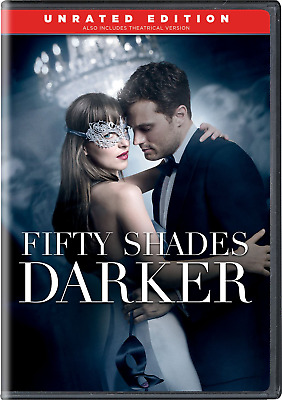 Fifty 50 Shades Darker DVD + DIGITAL HD Unrated Edition Movie New Best Sealed