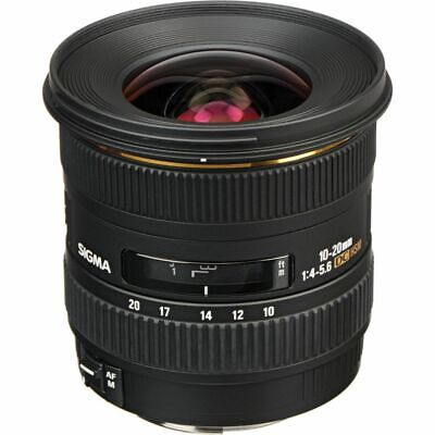 Sigma EX 10-20mm 10-20 mm 4.0-5.6 4,0-5,6 DC HSM TOPZUSTAND Canon EOS * 8032