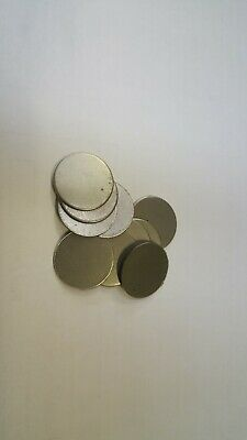 10 Mild Steel Cr Discs  19Mm Diameter  X  0.9Mm Thick Ideal For Welding