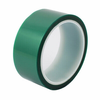 40mm Width 33M Length Green PET Adhesive Tape High Temp Heat Resistant Solder