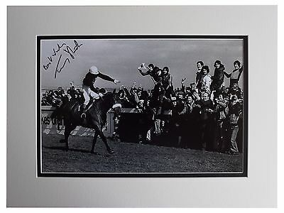 Tommy Stack SIGNED autograph 16x12 photo display Red Rum Grand National COA