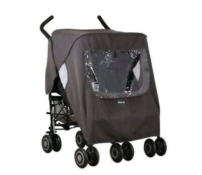 Koo-di Keep Us Dry Double Raincover for Buggy Pushchair Stroller Universal