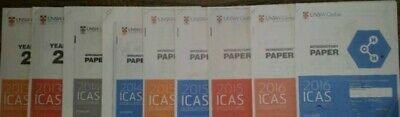 ICAS Year 2 ,3, 4, 5, 6, 7, 8, 9 All Subjects **@Paper 90ct each