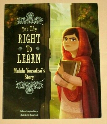 The Right to Learn Malala Yousafzai's Story Nobel Peace Prize Winner Pakistan