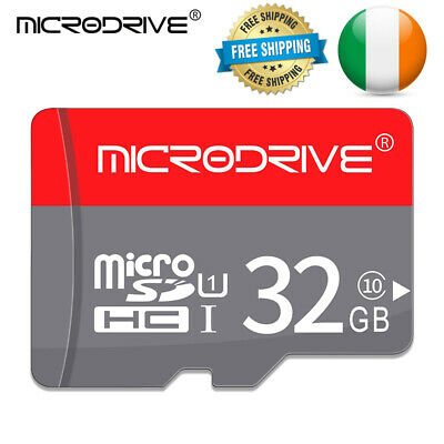 32GB Memory Card Micro SD Class 10 + Adapter TF Phone Tablet SDHC High Speed