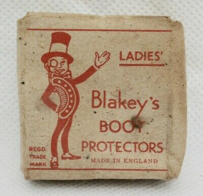 Vintage Pack of Blakey's Ladies Selection Boot Protectors. Leeds England.