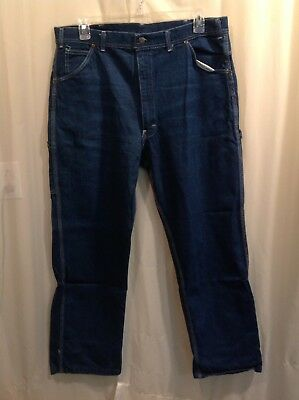 KEY Triple Stitched Carpenter Jeans, traditional styling Men's size 38 x 30,