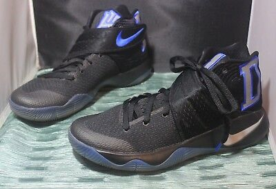be4472f49b4a NIKE KYRIE 2 Limited Duke Blue Black 838639 001 Size 9.5 No Box ...