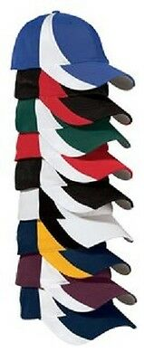 12 New Wicking DryZone Colorblock Hats EmbroideredFree4rCompany Structured