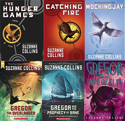 Suzanne Collins Kit - Hunger Games + Underland Chronicles + 8 Kit [EB0oK  P.D.F]