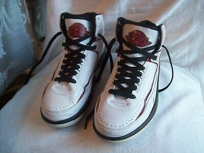 the latest 89ba3 3a126 Vintage Nike Air Jordan Ii 2 Retro White Varsity Red Black 308308-161 Size  11
