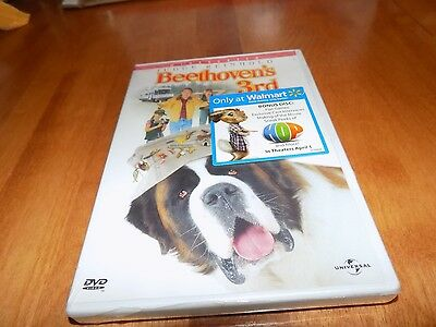 BEETHOVEN`S 3RD Widescreen Judge Reinhold Plus Bonus HOP Disc DVD SEALED NEW