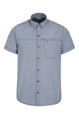 Mountain Warehouse Mens Vacation Shirt - Lightweight Summer Top, Breathable