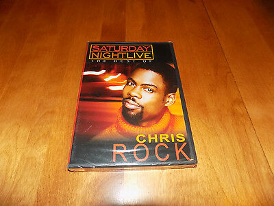 SATURDAY NIGHT LIVE THE BEST OF CHRIS ROCK SNL Comedy TV Classic DVD NEW