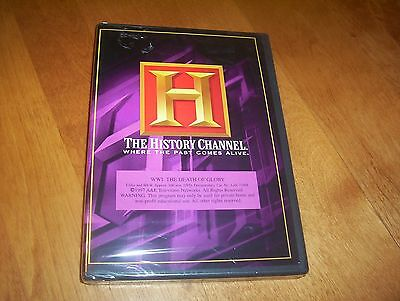 WWI THE DEATH OF GLORY World War One WW I Battle Combat History Channel DVD NEW