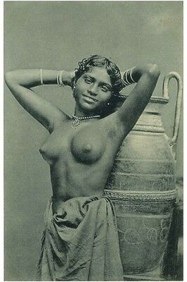Ceylon Nude Woman Ethnic Big Jug Sri Lanka Tribal Breasts India South Asia Photo