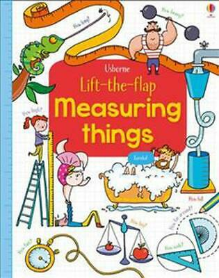 Lift-The-Flap Measuring Things by Rosie Hore Board Books Book Free Shipping!