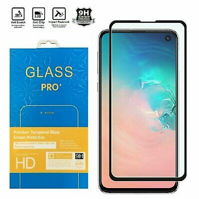 For Samsung Galaxy S10 Plus 10e 5G Full Cover 3D Tempered Glass Screen Protector