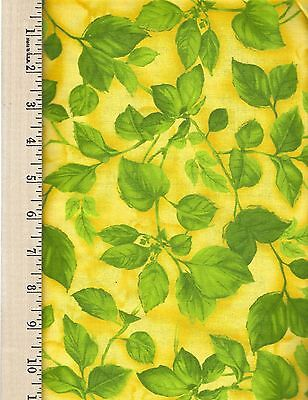 ROSA C4381 YELLOW  TIMELESS TREASERS 100% Cotton Fabric priced by the 1/2 yard