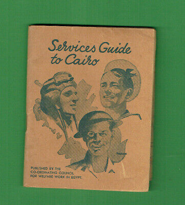 #D468.   1940s SERVICES GUIDE TO CAIRO BOOK