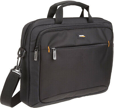 New, Black  Slim, Compact 14-Inch Laptop And Tablet Bag
