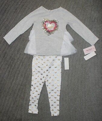 Juicy Couture Baby Girls 2 Piece Long Sleeve Set - Size 24 Months - NWT
