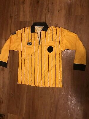 99b4d2dbcea57c Official Sports United States Soccer Federation Referee Shirt yellow Sz XL