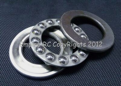 (2 PCS) 51104 (20x35x10 mm) Axial Ball Thrust Bearing (20mm x 35mm x 10mm)