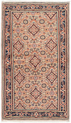 "Hand-knotted Oriental Carpet 3'0"" x 5'4"" Royal Mahal Wool Rug...DISCOUNTED!"