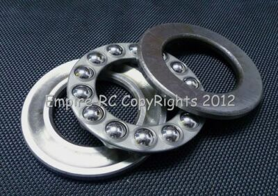 (10 PCS) 51107 (35x52x12 mm) Axial Ball Thrust Bearing (35mm x 52mm x 12mm)