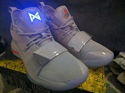 7e01f14409f0 Nike PG 2.5 PlayStation Paul George PS1 PS2 PS3 PS4 Classic Wolf Grey size  11.5