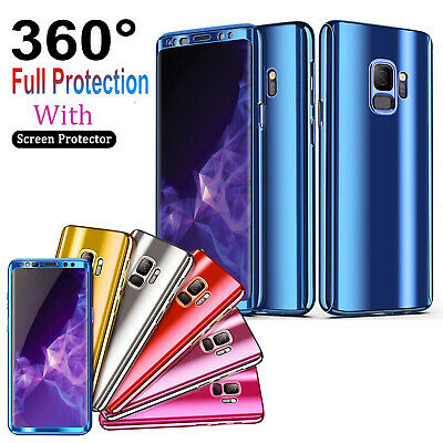 For Samsung Galaxy S7 8 s9plus Note9 8 7 360 Full Case Front Screen Protector