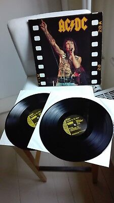 AC / DC  BON SCOTT >>> limited Vinyl 2LP <<< LIVING HELL (1991)