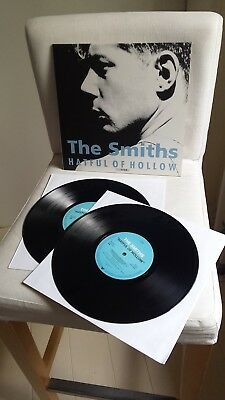 """THE SMITHS limited/numbered 5.000 copies 2x10"""" Hatful Of Hollow (1984/1993)"""