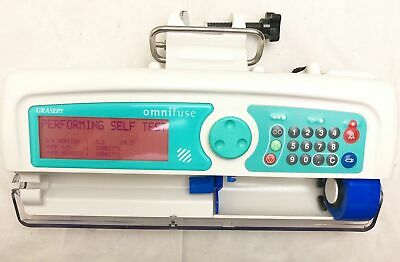 GRASEBY OMNIFUSE SYRINGE DRIVER INFUSION PUMP FLUID ADMINISTRATION Anaesthesia
