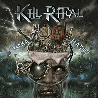 Kill Ritual - Karma Machine - Kill Ritual CD R6LN The Fast Free Shipping