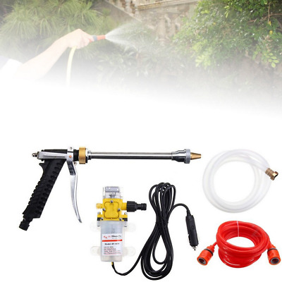 Portable High Pressure Sprayer 12V 100W Car Washer Cleaner Water Wash Pump Tool